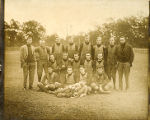1919-1920 Henderson Football Team in Pads